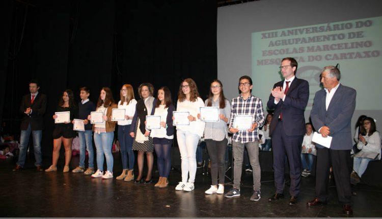 Agrupamento encerrou aniversário com atribuição de diplomas