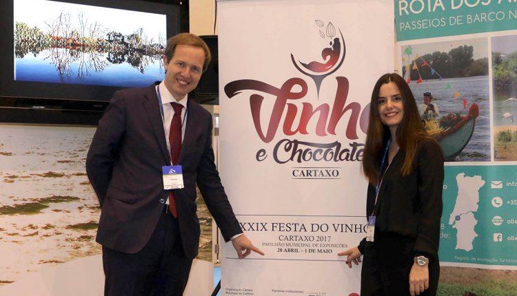 Cartaxo foi à BTL apresentar Festa do Vinho