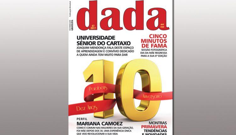 Revista DADA nas bancas com o Jornal de Cá