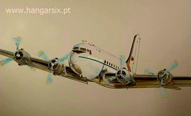 António Six expõe aguarelas de aviões em Lisboa